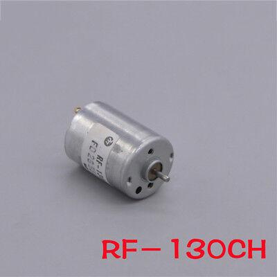 Mabuchi RF-130 Micro Motor 6V DC 8100RPM Mini Silent DC Motor RF-130CH-12250