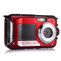 Amkov Amkov W599 Waterproof 24.0mp Fhd 1080p Digital Camera 16x Digital Zoom - unbranded/generic - ebay.com
