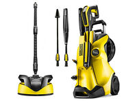 Karcher K4 Premium Full Control + Home Kit, Pressure Washer with a T350