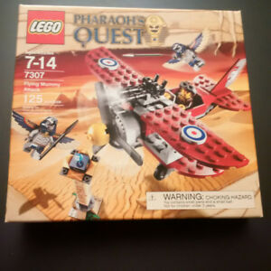 Sealed Lego Flying Mummy Attack # 7307