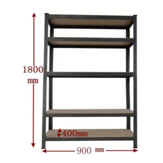0.9M Steel Garage Warehouse Rack Shelves Storage Shelving Shelf
