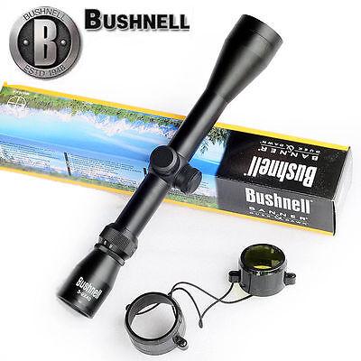 Bushnell Banner Rifle Scope 3-9x40 Duplex Reticle Short Scope Sight HD Glass New