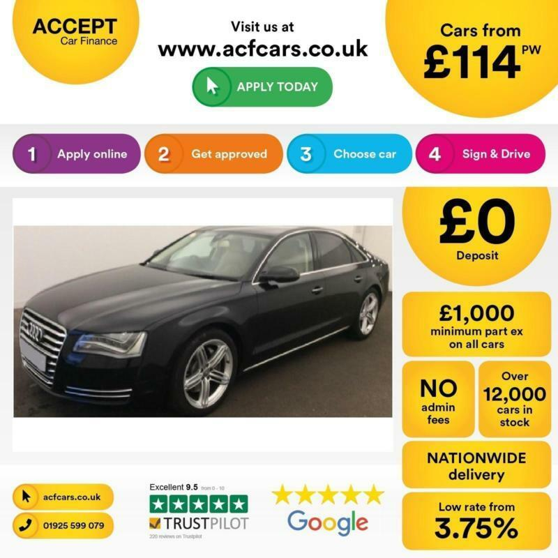Audi A8 FROM £114 PER WEEK!