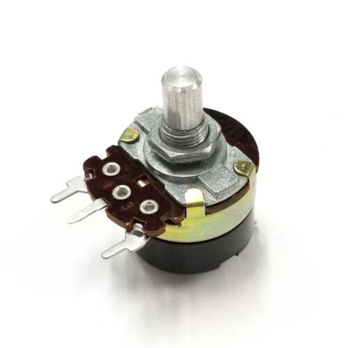 NEW 100K Ohm 1/4 Watt Audio Taper Potentiometer with SPST, ON-OFF Switch ~ A100K