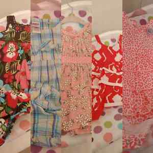 10 summer dresses. 0-3 nwot and not all brand name
