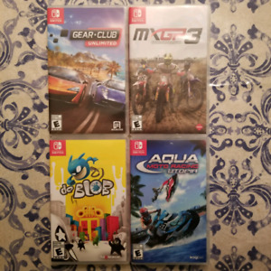 Handful Of Nintendo Switch Games!