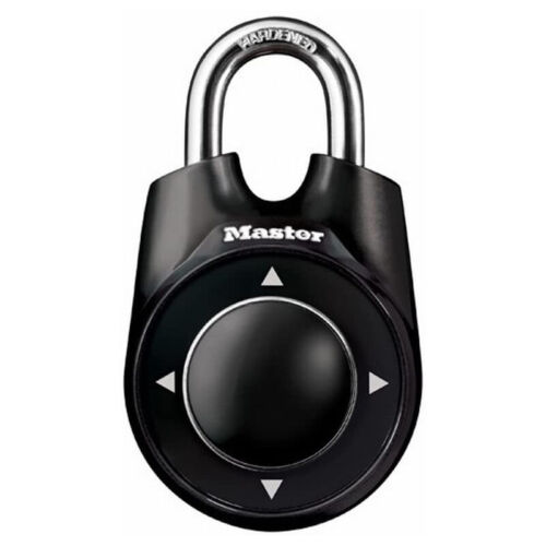 Master Lock 1500ID Padlock, Set Your Own Speed Dial Combination Lock
