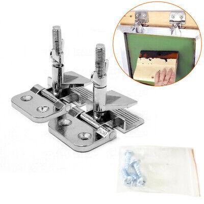 T-shirt Screen Printing Kit Silk Screen Frame Hinge Clampalloy 2pcs With Screws