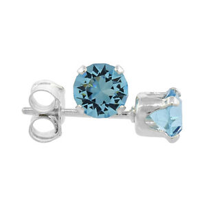 Sterling Silver Swarovski Crystal Birthstone Stud Earrings $6 ea Windsor Region Ontario image 7