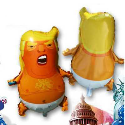 1 Balloon (1pc Trump Baby Balloon Impeach Donald Trump Party Balloon 22 x)