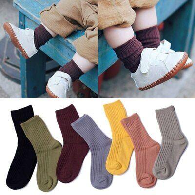 Short Girls Tube (Kids Baby Socks Warm Girl Boy Autumn Winter Toddler Infant Short Tube)