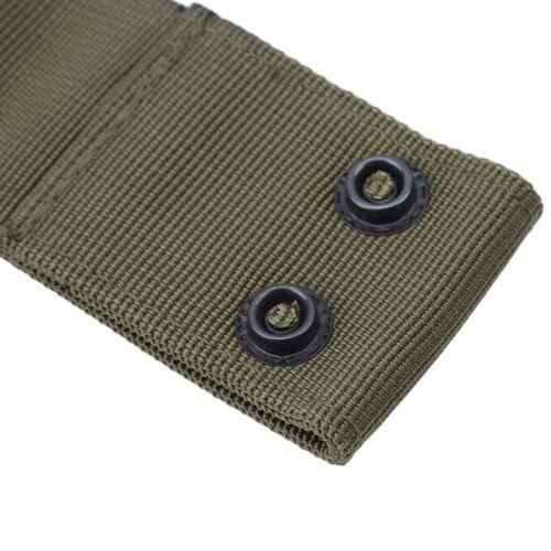 Multifunctional Nylon Tactical Waist Hanger Buckle Hook Handcuff Strap Holder KI