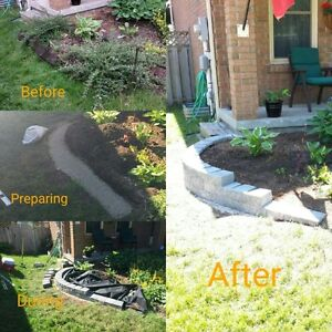 Hardscraping and lawncare London Ontario image 1