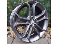 """18"""" New Model Focus ST Style Alloys on Tyres"""