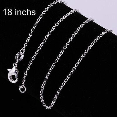 Ankerkette - 925 SILBER Silberkette 1,5 MM - 45CM Kette Halskette Damen Geschenk