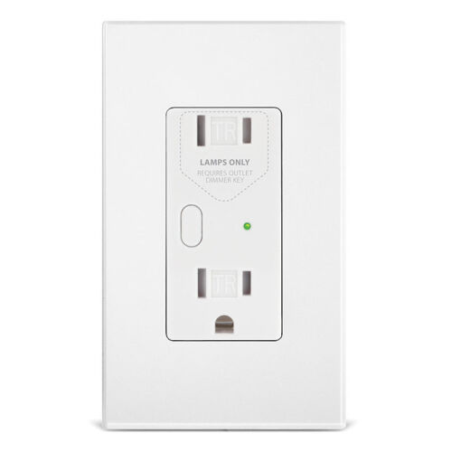 NEW Insteon 2472DWH OutletLinc Remote Outlet w/ 300W Dimmer, White