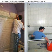 Tile installation done right by professionals
