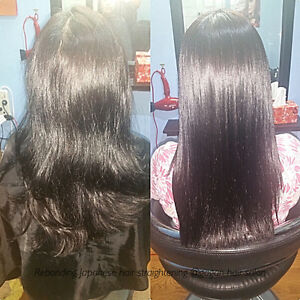JAPANESE HAIR STRAIGHTENING KERATIN TREATMENT OLAPLEX TREATMENT Peterborough Peterborough Area image 5