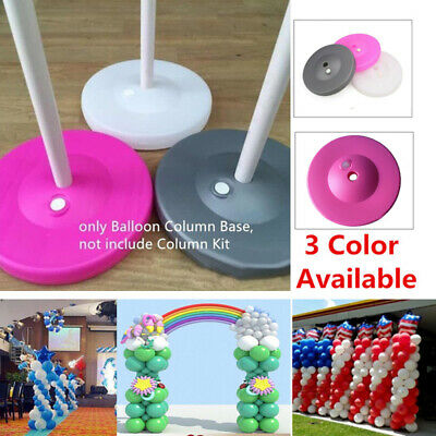 Plastic Ballon Column Base Wedding Decoration Balloons Bottom Stand Arch Accesso Wedding Arch Decorations