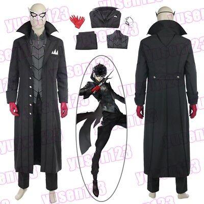 Joker Halloween Comic ( P5 Persona 5 Joker Hero Arsène Halloween Cosplay Costume Comic Con)