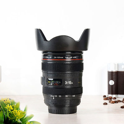 Camera Lens Cup Ef 24 105Mm Dslr   Coffee    Pen Holder   Realistic   Usa Seller
