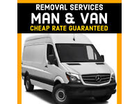 MAN AND VAN HOUSE & OFFICE REMOVALS SERVICE + Van Hire / FURNITURE ETC
