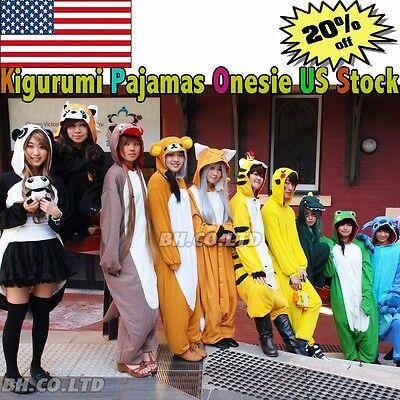 Unisex Adult Child Onesie1 Kigurumi Pajamas Cosplay Costume Animal Sleepwear