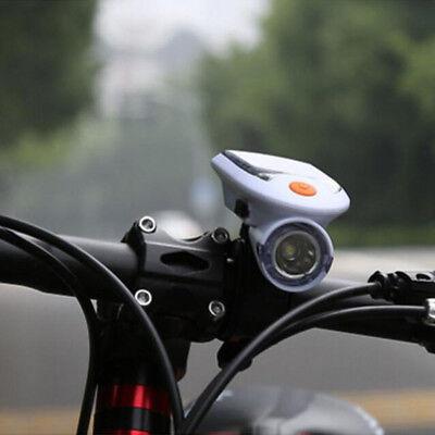 3W Solar Bicycle Light MTB Bike Headlights USB Charging 2019 Cycling (Best Mountain Bike Lights 2019)