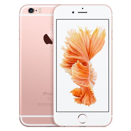 NEW NEW UNLOCKED SIM APPLE IPHONE 6S 16GB 64GB 128GB ROSE GOLD SPACE GREY SILVER TT