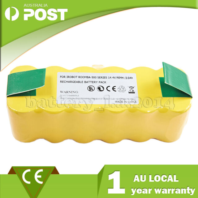 14.4 V Replacement for irobot Roomba 500 600 700 series Vacuum Cleaner Battery