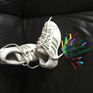 Size 5 Adidas Basketball Shoes