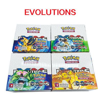 Pokemon GX TCG Booster Box Englisch Edition SUN & MOON Karten Geschenk 324pcs