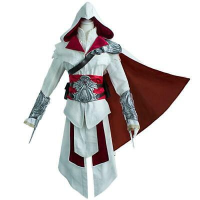 Ezio Auditore da Firenze Cosplay Assassins Creed Discovery Brotherhood Costume