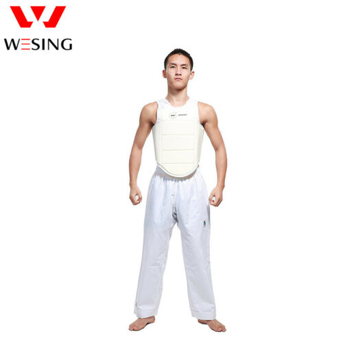 Wesing men WKF karate chest guards protective gear male chest body guards