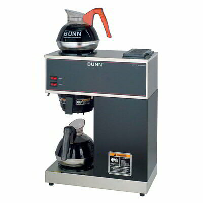 Bunn Vpr 33200.0002 Medium Vol Decanter Coffee Maker - Pourover 3.8galhr 120v
