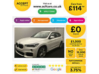 Mineral White BMW X1 2.0TD 4X4 Auto 2017 xDrive18d M Sport FROM £114 PER WEEK!