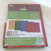 Hilroy  Enviro-Plus Colored Recycled File Folders