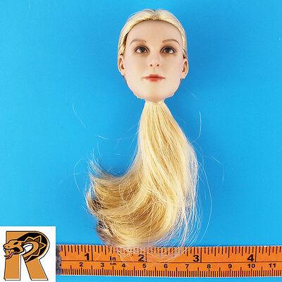 Natalia Russian Airborne   Female Head Blonde   1 6 Scale Damtoys Action Figures