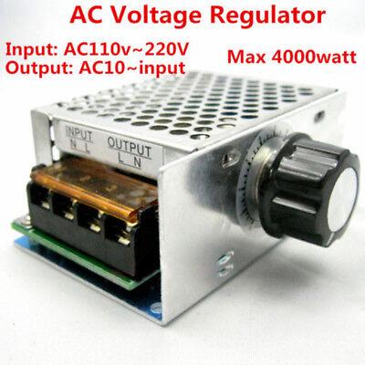 4000w Ac 110v 120v Scr Voltage Regulator Motor Speed Control Semiconductor Silic