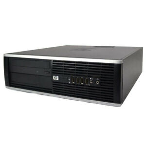 HP Compaq Elite 8000 SFF Desktop Business PC Win 7 Pro