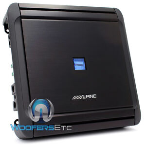 ALPINE MRV-M500 AMP 1CHANNEL 1000W MAX SUBWOOFERS SPEAKERS BASS AMPLIFIER NEW