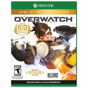Overwatch Game of the Year Edition -Xbox One - MINT CONDITION