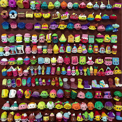 LOT OF RANDOM 100 PCS SHOPKINS SEASON 1 2 3 4 5 6 7 8 KIDS TOYS FIGURE DOLL GIFT