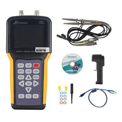 Jds2022a Digital Oscilloscope 200msas 2channel Tft Lcd Storage 20mhz Multimeter
