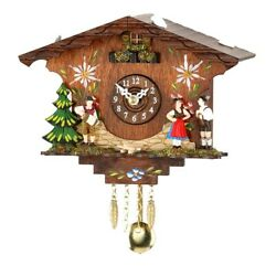 Kuckulino Black Forest Clock with quartz movement and cuckoo ch.. TU 2046 PQ NEW