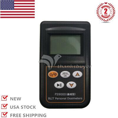Nuclear Radiation Detector Radiation Dosimeter English Japanese Menu Fs9000 Us