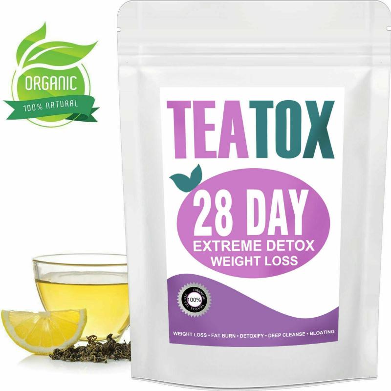 Colon Cleanse Detox Tea Set Weight Loss Tea Skinny Herbal Te