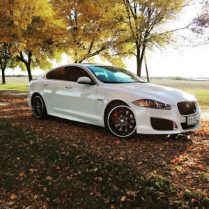 2012 SUPERCHARGED JAGUAR XFR 510HP (MINT CONDITION,FULLY LOADED)