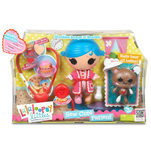 New in Box Lalaloopsy Sew Cute Patient Doll & Playset