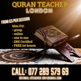 Quran Teacher | Arabic | Tajweed | Islamic Studies | Memorization